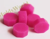 S039 35 Pcs Hot Pink Sealing Wax Beads for Wax Seal Stamp