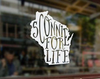 Sconnie for Life - Vinyl Sticker