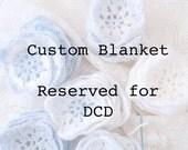 Custom Granny Square Baby Blanket-  Reserved for DCD