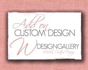 Custom Design from Scratch