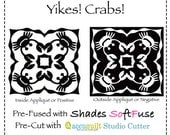 SALE! 2 for 1 Hawaiian Applique         Yikes Crabs.