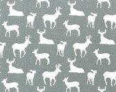 Deer Fabric Gray