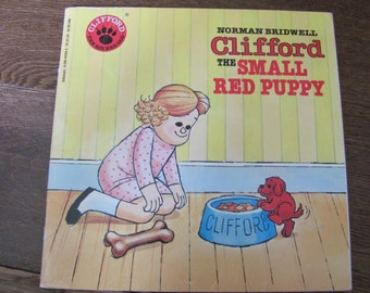 Vintage Clifford the Red Dog Book