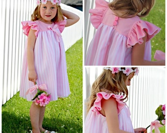 The Angel Dress Size 9-12m to 6 PDF Pattern