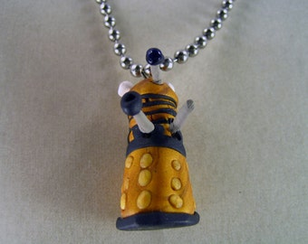 Dalek Doctor Who necklace