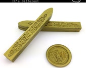 Vintage gold Sealing Wax (Color D) - Stamp Wax, Seal Wax - Standard or Glue Gun Use