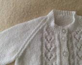 Vintage Handknit Sweater for NEWBORN