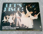 Vintage 70's Let's DIsco - How to Dance Book