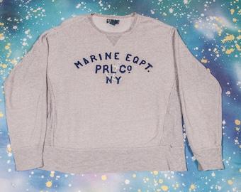 MARINE EQPT. Prl Co NY Sweatshirt