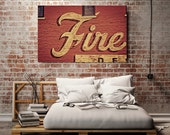 Building on Fire Art Phot...