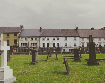 Irish Graveyard Art Photograph