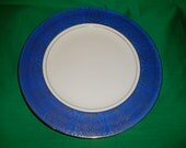 "One (1), 10 3/4"" Dinner Plate, from Homer Laughlin, in the HLC 344 Pattern."
