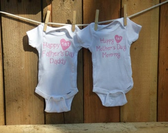 Newborn 5-8 lbs Girl Mother's Day and Father's Day set