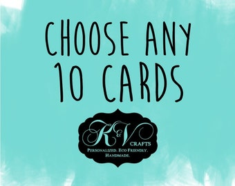 Assorted Cards - Different Occasions - 10 Note Cards - A2 Box Set