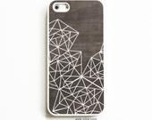 Rubber iPhone 5 Case. iPhone 5S Case. Geometric Lines. iPhone 5S Cases. Rubber iPhone Cases. Phone Case. iPhone Case.