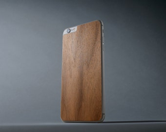 Walnut iPhone 6 Plus / 6s Plus Real Wood Skin - Made in the USA - FREE Shipping