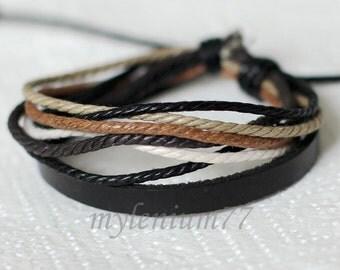 539 Men bracelet Women bracelet Band bracelet Cords bracelet Ropes bracelet Bangle bracelet Leather bracelet Fashion bracelet