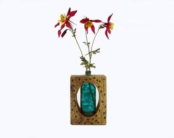 unique table vase