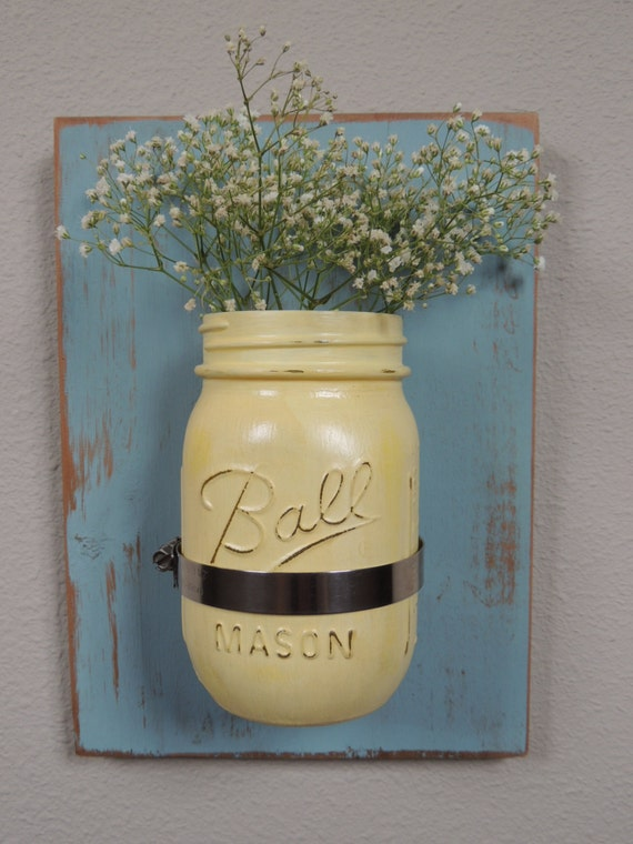 Wall Decor With Mason Jars : Moved permanently