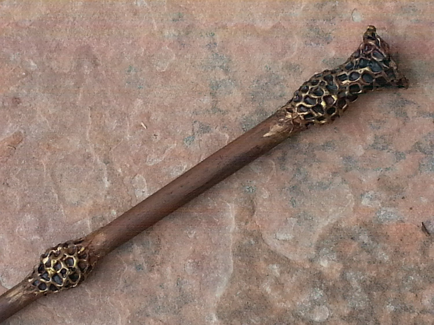 Harry potter inspired magic wand dumbledore elder wand for Wooden elder wand