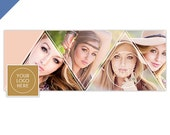 Senior Facebook Timeline Cover Template, Senior Facebook Cover Templates, Senior Templates, Facebook Template for Photoshop - FB188