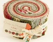 Under the Mistletoe by 3 Sisters for Moda - Jelly Roll Factory Precut