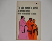 The Good Woman of Setzuan - Bertolt Brecht - Drama - Revised English Version by Eric Bentley - Grove Press 1966 - Vintage Paperback Book