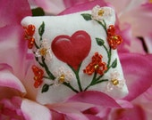 Love Grows Mini Dollhouse Pillow