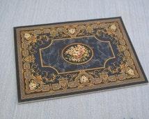 Gaël Miniature Aubusson rug Dollhouse miniature carpet