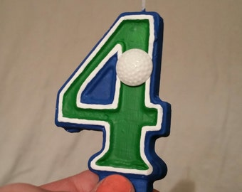 Golf Birthday Candle