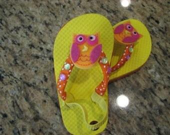 Coastal Couture Kids Flip Flops