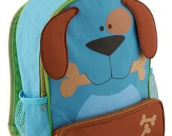 Personalized Stephen Joseph Sidekick backpack dog