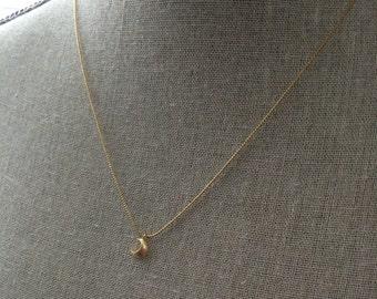 Luna necklace, gold