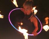CUSTOM // Color-Morph Reflective Fire Polypro Hoop