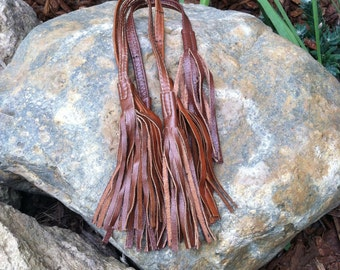 Leather Tassel - Bag Charm - Handmade accessories for bags - trendy accessories