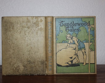 Tanglewood Tales by Nathaniel Hawthorne circa 1905, Wonderland Series, Vintage Books, Antique Books, Children Books, Classic Stories