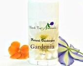 Probiotic Deodorant Stick - Gardenia Natural Deodorant Tube with Tea Tree Oil  - Organic Deodorant with Coconut Oil
