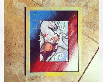 Postmodern Circus- Original Moxed-media Artwork.