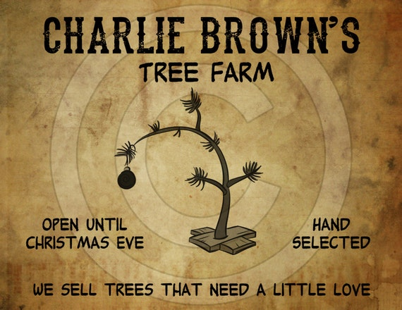 Charlie Brown Christmas Tree Pictures