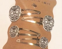 Day of the Dead barrettes