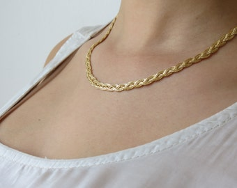 Gold filled chain, gold necklace, gold filled necklace, 14k necklace, unique necklace, 14k gold necklace, everyday necklace
