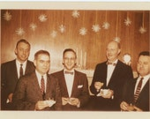 Punch Drinkers, c1950s-60s Vintage Photo Snapshot [56367]