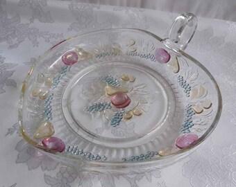 Della Robia Heart Shaped Dish
