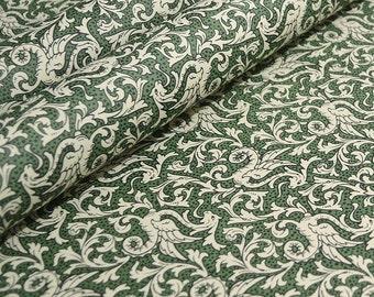 Italian Decorative Paper Carta Varese - Green Dragons