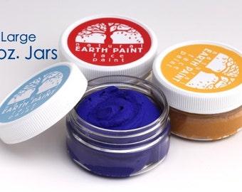 Natural Face Paint - Large 2 oz. Jars