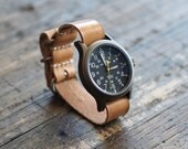 Leather Watch Strap // Handcrafted in U.S.A.