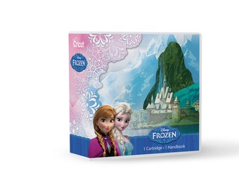 FROZEN - DISNEY CRiCUT CARTRIDGE - for All Cricut Machines ~  In stock now !