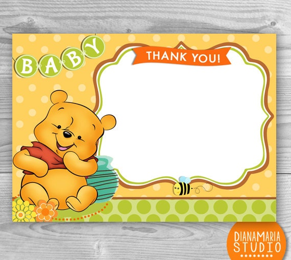 Baby Shower Winnie The Pooh Invitations was great invitations design