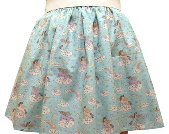 Unicorns Full Skirt