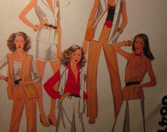 Vintage MaCalls Carefree Pattern 6641 Mix and Match Wardrobe Size 10 Bust 32-1/2